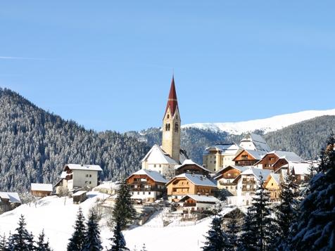 Enneberg im Winter
