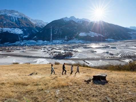 Escursioni invernale in Val Venosta