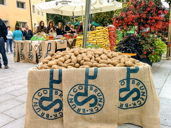 Potato festival in Bruneck