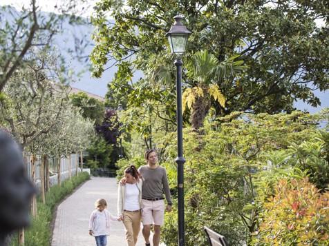 Falkner promenade Dorf Tirol / Tirolo