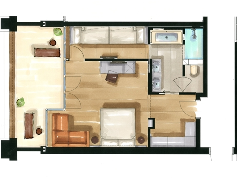 Residence Family Nest | Aquagarden-2