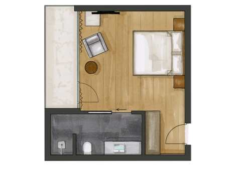Residence Comfort Room | Aquagarden-2
