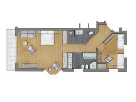 Familiensuite Süd | Stammhaus-2