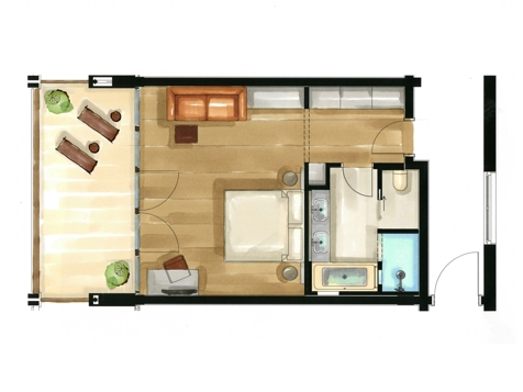 Residence Juniorsuite | Aquagarden-2