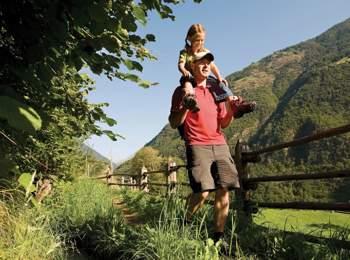 Familienwanderungen in Südtirol