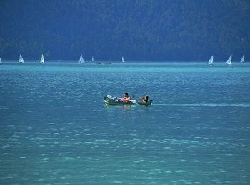 Fare il bagno al Lago Achensee