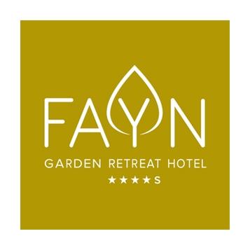 FAYN garden retreat hotel Logo