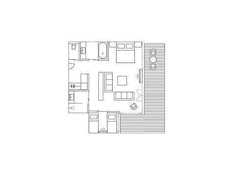Suite rustica-3