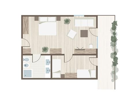Familienzimmer Granat-1