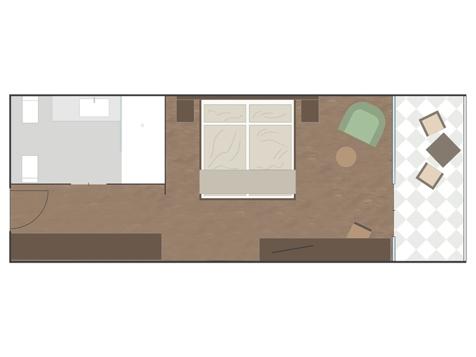 Komfort Doppelzimmer BURGUND-1