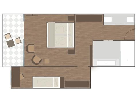 Penthouse Designersuite ALPEN-1