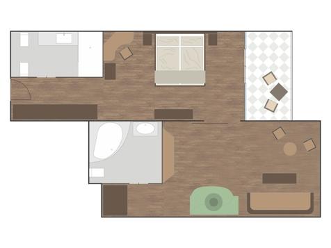 Luxus-Suite VIER JAHRESZEITEN-1