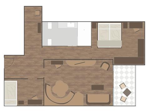 Luxus-Suite BELLEVUE-1