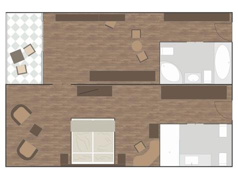 Luxus-Suite PANORAMA-1