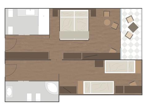 Familienzimmer BURGUND-1