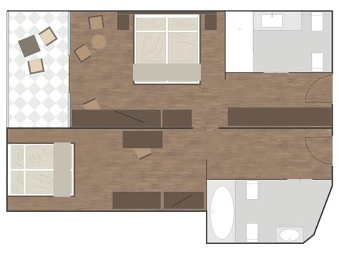 Familienzimmer ALPEN-1