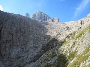 Fixed-rope route Pisciadu