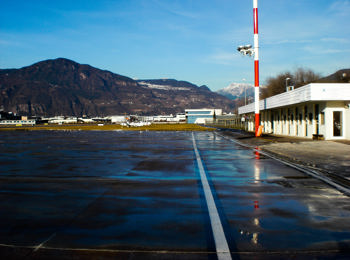 Flughafen in Bozen