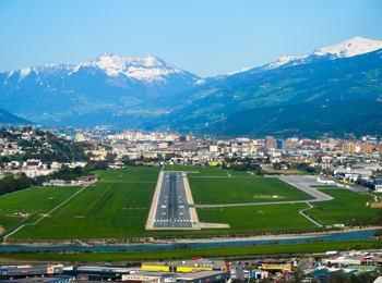 Flughafen in Innsbruck