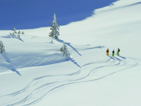 Freeskiing in St. Anton