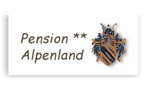 Frühstückspension Alpenland Logo