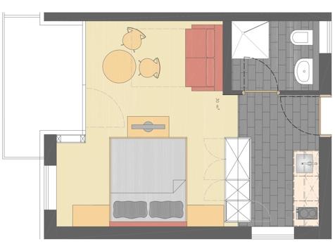 Pink Lady - 33 m²-2