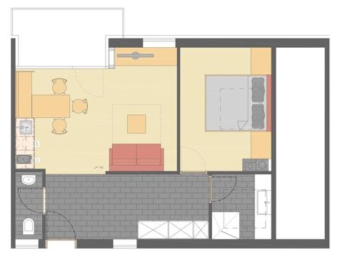 Gala - 55 m²-3