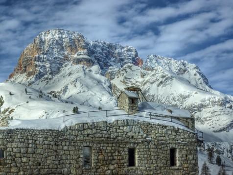 Gebirgskrieg in den Dolomiten