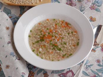 Gerstesuppe / Barley soup