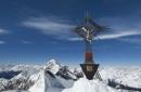 Gipfelglück über dem ewigen Eis