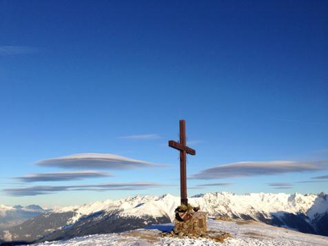 Gipfelkreuz bei Fiss