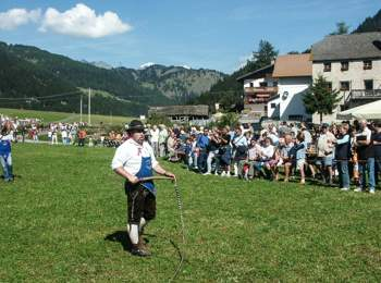 Goaslschnölln in Südtirol