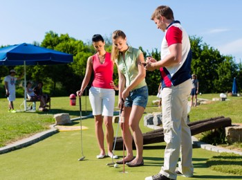 Golf holiday with golf courses
