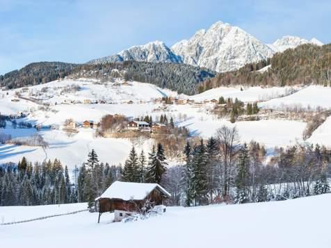 Hafling im Winter