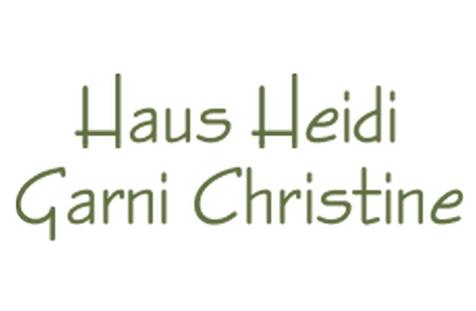 Haus Heidi - Garni Christine Logo