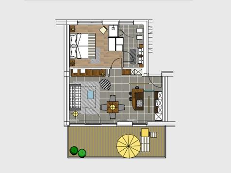 Suite Superior Terrassen-3