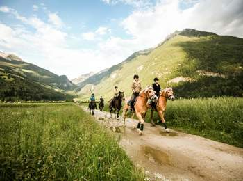 Horse trekking in Tauferer Ahrntal