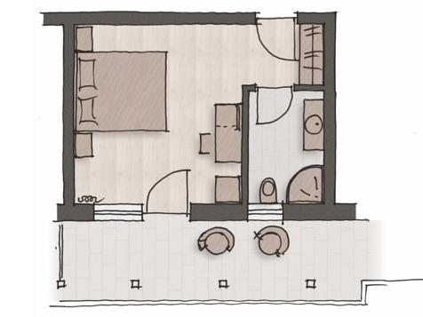 "Komfort Doppelbettzimmer ""Pinot Bianco""-5"