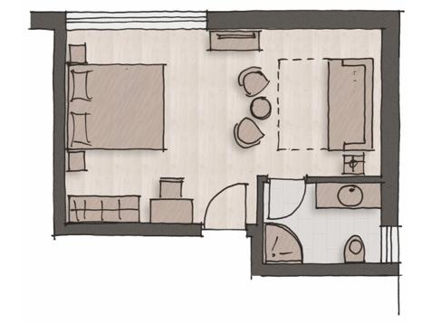 "Komfort Doppelbettzimmer ""Sauvignon""-4"