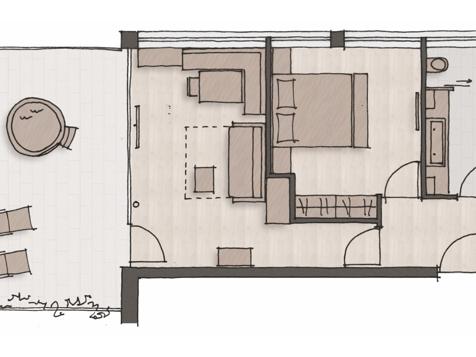 Penthouse Suite Graf-5