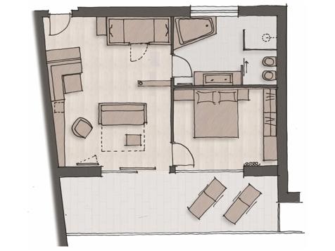 Panorama Suite Appianum-6