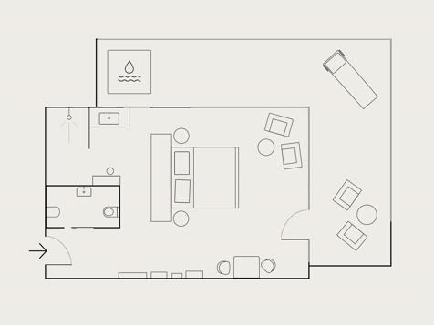 Balance SPA Suite con vasca idromassaggio-6