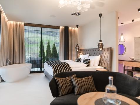 Penthouse plus mit Whirlpool & Sauna-2