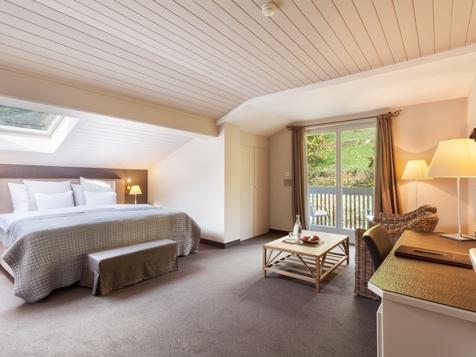 Doppelzimmer mit Nordbalkon und Waldblick-1