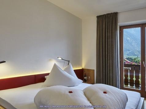 """Doppelzimmer """"Königspitze"""" 20-23 m² für 2 Personen-1"""