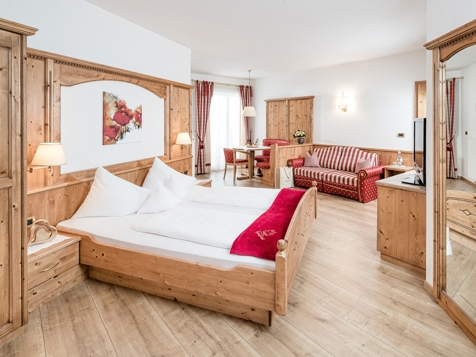 """Typ 7 - Komfortzimmer """"Edelweiss"""" mit Balkon-1"""