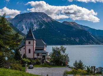 Hotel Schlössl am See in Reschen