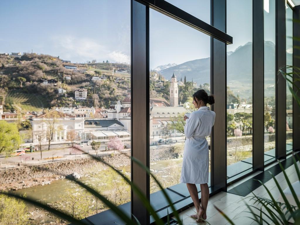 Hotel therme meran in meran die besten hotels in s dtirol for Design hotel meran und umgebung