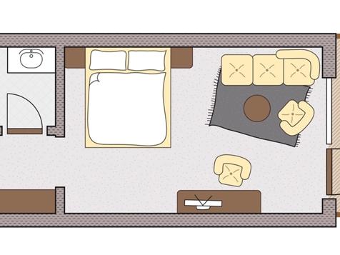 Doppelzimmer Romantic-3