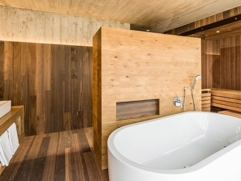 Panorama Suite Deluxe mit Sauna-4